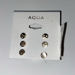 brand new pairs of AQUA earrings w tags